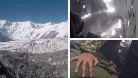 Helicopter Crash Filmed From Inside Cabin | Frontline Videos