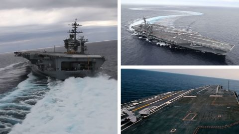 These Nimitz-Class Sea Trials Will Change The Way You Look At Carriers | Frontline Videos
