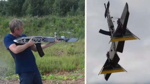 This New Russian Rifle Drone Is A Real Thing | Frontline Videos
