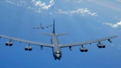 The U.S. Just Flew 6 B-52 Bombers To The UK And Russia Is Mad About It | Frontline Videos