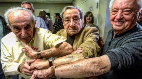 72 Years Later, Holocaust Survivors Who Were IN THE SAME LINE Meet Again   Frontline Videos