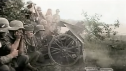 Short Colored WWII Close Combat Clip | Frontline Videos