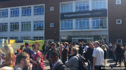 University Campus Evacuated Because of WWII Bomb   Frontline Videos