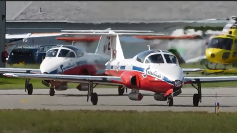 A Tribute To CF Snowbirds Capt. Jenn Casey & Capt. Richard MacDougall | Frontline Videos