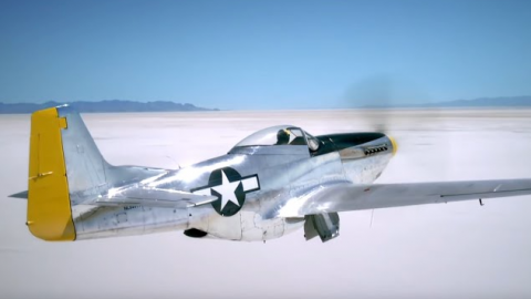 P-51 Mustang Commercial Breitling | Frontline Videos