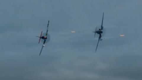 P-51 Mustang VS Bf 109 – Hart's War | Frontline Videos