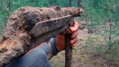 MP40 Sub-Machine Gun Found at WW2 Battlefield | Frontline Videos