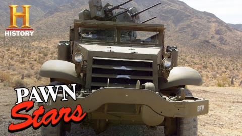 Guys Are Impressed with WWII Half-Track and Shoot Guns | Frontline Videos