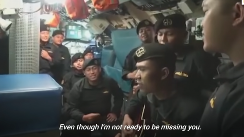 'Till We Meet Again': Video of Doomed Indonesian Submarine Crew's Farewell Song Shared Online | Frontline Videos