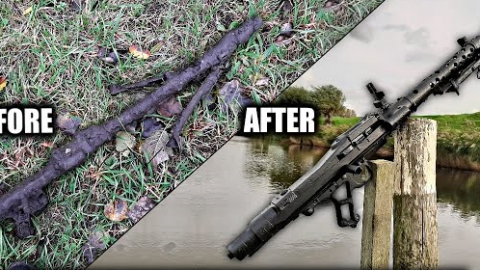 MG34 River Find- Restoration and Donation to a Museum in the Netherlands | Frontline Videos