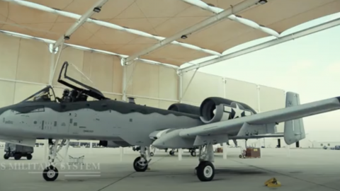 A-10 Warthog Painted as WWII P-51 Mustang | Frontline Videos