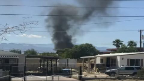 Plane Crashes In Las Vegas Neighborhood | Frontline Videos
