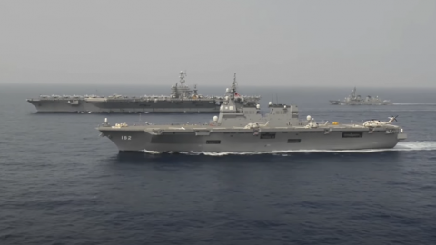 US Navy calls all allies to send massive warships to the South China Sea for the stability | Frontline Videos